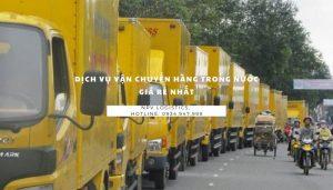 dịch vụ vận chuyển hàng hoá trong nước