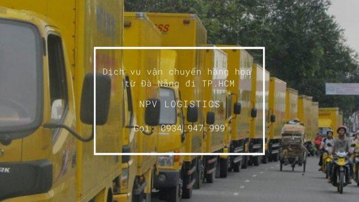 Dịch vụ vận chuyển hàng từ Đà Nẵng đi TP.HCM