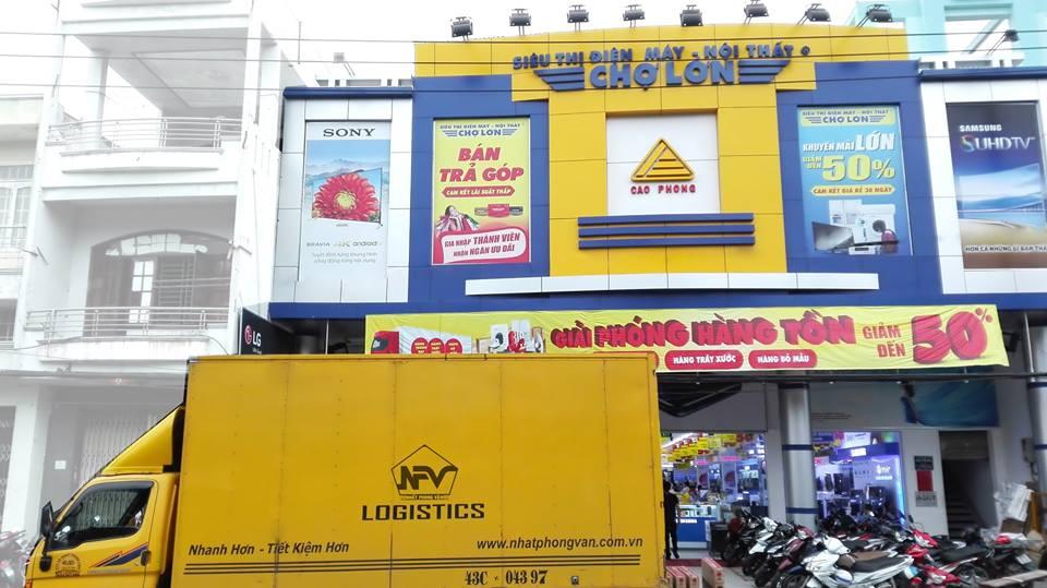 Vận chuyển hàng hoá từ Đà Nẵng đi Huế