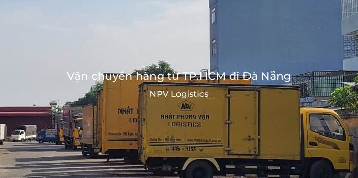 Vận chuyển hàng từ TP.HCM đi Đà Nẵng